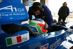 Paolo Bossini, pilote de A1 Equipe d'Italie