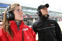 Natacha Gachnang, driver of A1 Team Switzerland