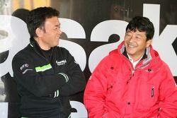 Membres de l'équipe Kamasaki