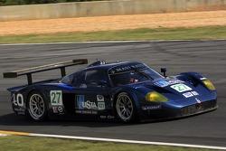 #27 Lista Doran Racing Maserati MC-12-C: Didier Theys, Fredy Lienhard, Andrea Bertolini