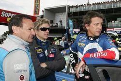 Alan Gurr, Warren Luff (IRWIN Racing Ford Falcon BF)
