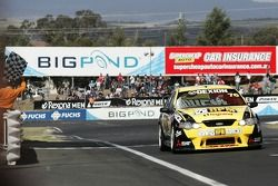 Luke Youlden wins the race and the round