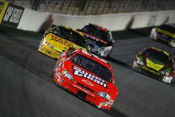 Dale Earnhardt Jr. leads a pack