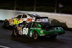 Carl Edwards races Greg Biffle