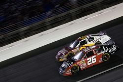 Jamie McMurray and Clint Bowyer battle