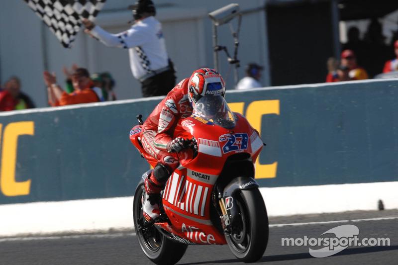 Ducati Desmosedici 2007 - Loris Capirossi e Casey Stoner
