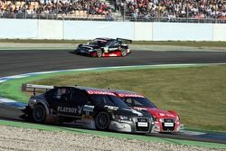 Christian Abt, Audi Sport Team Phoenix, Audi A4 DTM y Mike Rockenfeller, Audi Sport Team Rosberg,