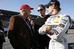Mathias Lauda with his father Niki Lauda