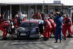 Pit stop for Timo Scheider, Audi Sport Team Abt Sportsline, Audi A4 DTM