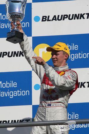 Podium: Mattias Ekström