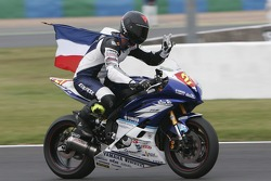 21-Maxime Berger & vainqueur de la course-Yamaha YZF R6-Team Trasimeno