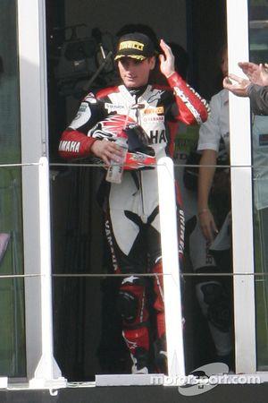 Broc Parkes 2nd of Supersport race