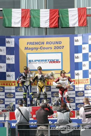 Podium Of The Superstock 1000 Race