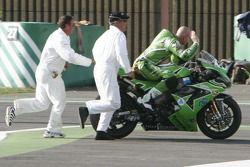 Régis Laconi out of gas