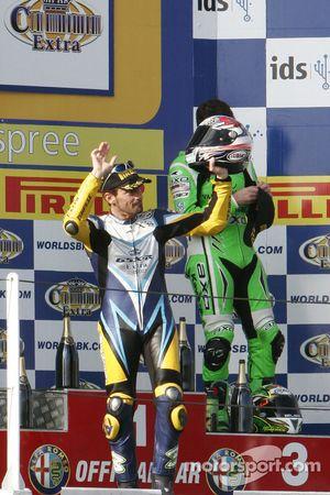 Max Biaggi 2nd of race 2