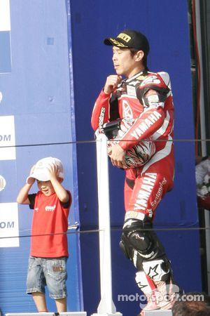 Noriyuki Haga winner of race 2