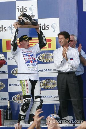 James Toseland accepts his title