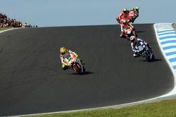 Valentino Rossi et Marco Melandri