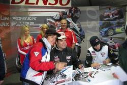 Carlos Checa signs autographs