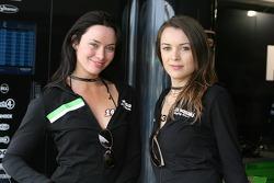 Kawasaki Racing girls