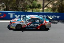 Russell Ingall during the morning session