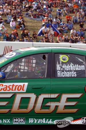 Mark Winterbottom waits for his shot at the Top 10