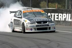 Fabian Coulthard hits the wall