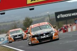The Toll/HSV cars failed to finish