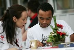 Nicholas Hamilton, frère de Lewis Hamilton, McLaren Mercedes