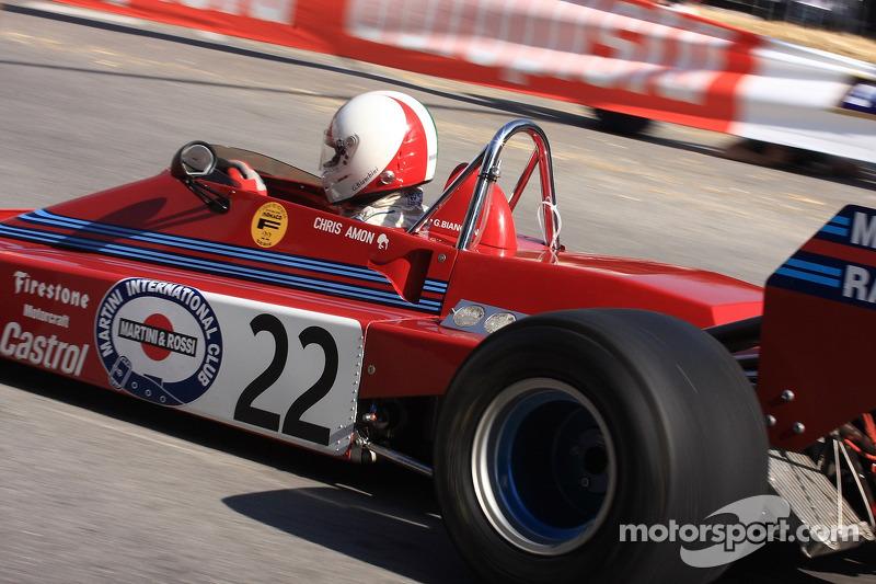 Tecno E 371 Martini, Chris Amon