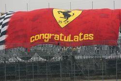 Grand drapeau Scuderia Ferrari