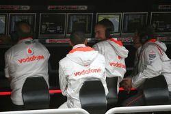 Ron Dennis, McLaren, Team Principal, président, Lewis Hamilton, McLaren Mercedes, Martin Whitmarsh,