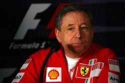 Conférence de presse FIA: Jean Todt, Scuderia Ferrari, Ferrari CEO