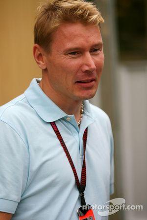 Mika Häkkinen, ancien champion du monde de Formule 1