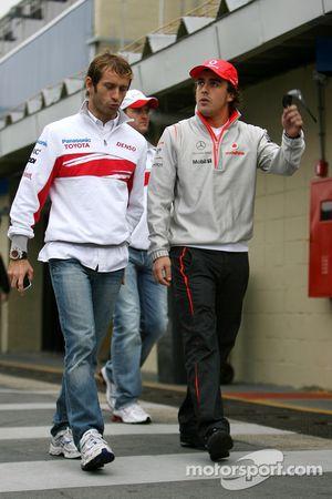 Jarno Trulli, Toyota Racing, Fernando Alonso, McLaren Mercedes