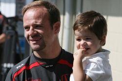 Rubens Barrichello, Honda Racing F1 Team ve oğlu