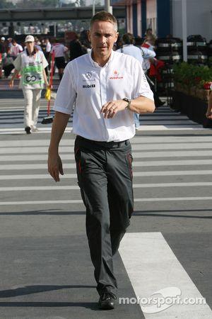 Martin Whitmarsh, McLaren, Şef Sorumlusu