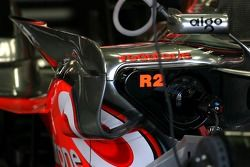 McLaren Mercedes body work detay