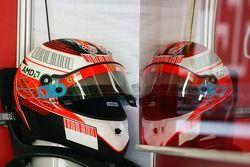 Le casque de Kimi Raikkonen, Scuderia Ferrari