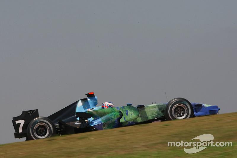 Jenson Button, Honda Racing F1 Team, RA107