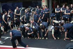 Scuderia Toro Rosso, takım elemanları pick up stickers off taban