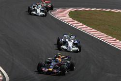 Марк Уэббер, Red Bull Racing, Роберт Кубица, BMW Sauber F1 Team, Ник Хайдфельд, BMW Sauber F1 Team
