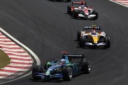 Jenson Button, Honda Racing F1 Team, Heikki Kovalainen, Renault F1 Team, Takuma Sato, Super Aguri F1