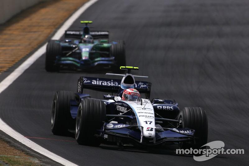Takuma Sato, Super Aguri F1, Robert Kubica, BMW Sauber F1 Team