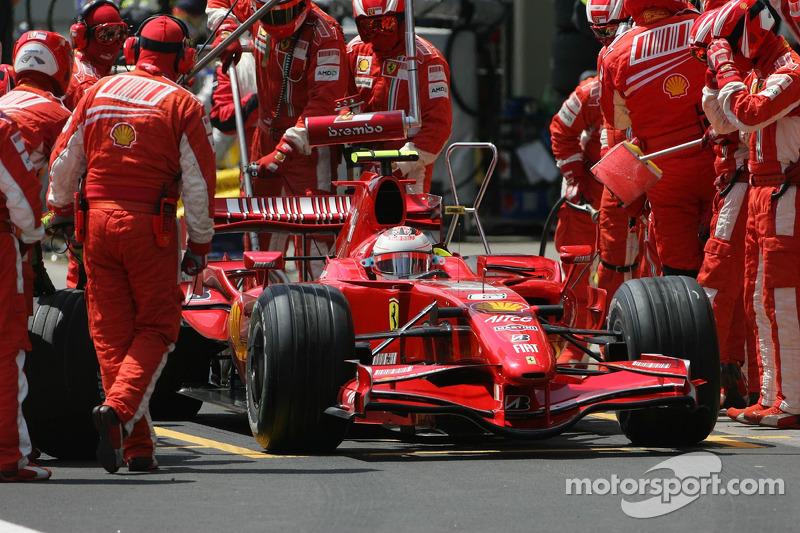 #6: Kimi Raikkonen, Scuderia Ferrari, F2007