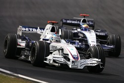 Nick Heidfeld, BMW Sauber F1 Team , Nico Rosberg, WilliamsF1 Team