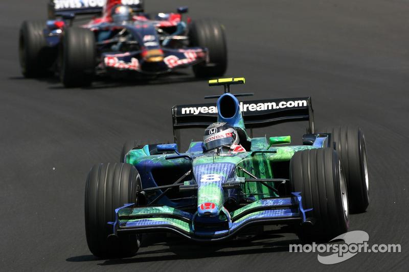 2007: Honda, 20º no campeonato (0 pts)