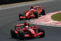 Фелипе Масса и Кими Райкконен, Scuderia Ferrari, F2007