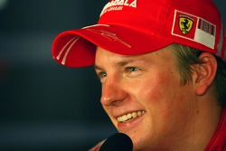 Press conference: race winner and 2007 World Champion Kimi Raikkonen