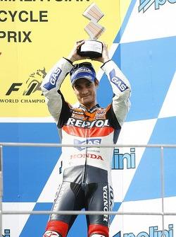 Podium: third place Dani Pedrosa
